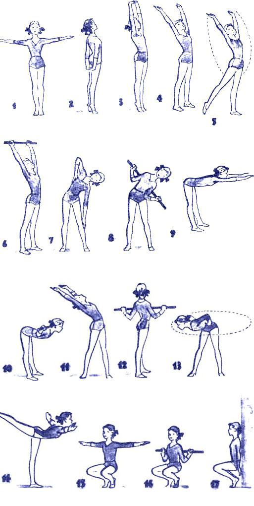 Физический Комплекс Для Похудения. Упражнения для похудения